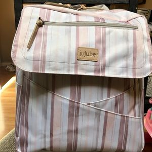 Jujube core convertible bundle- watercolor stripe